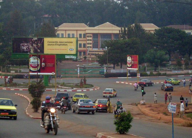 Bafoussam, chef-lieu de la région de l'Ouest, au Cameroun, en 2014.