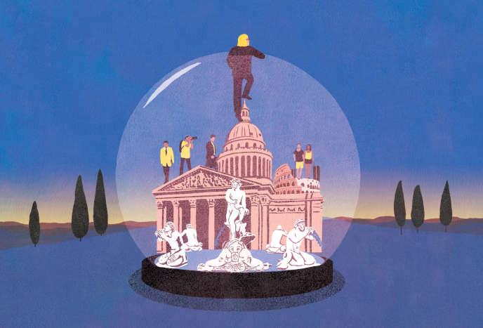 "In Rome, ""I am a Martian"""