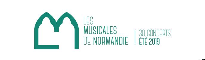 Affiche du festival Les Musicales de Normandie.