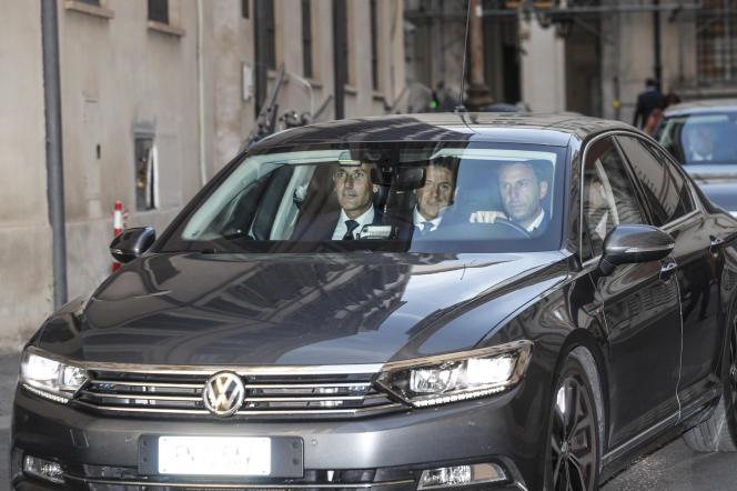 Le chef du gouvernement Giuseppe Conte, le 8 août.