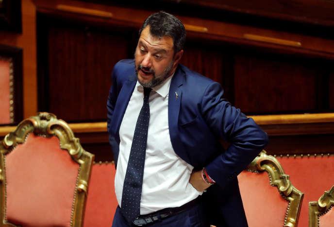 Matteo Salvini le 5 août 2019.