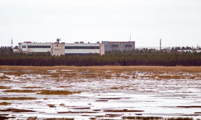 La base militaire de Nionoksa, dans la région d'Arkhangelsk, le 9novembre 2011, où s'est produit l'accident du 8 août.