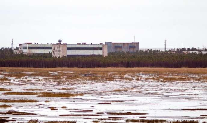 La base militaire de Nionoksa, dans la région d'Arkhangelsk, le 9 novembre 2011, où s'est produit l'accident du 8 août.