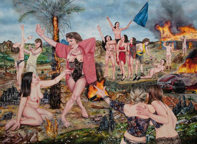 «Les Pétroleuses»(2018), de Nazanin Pouyandeh.
