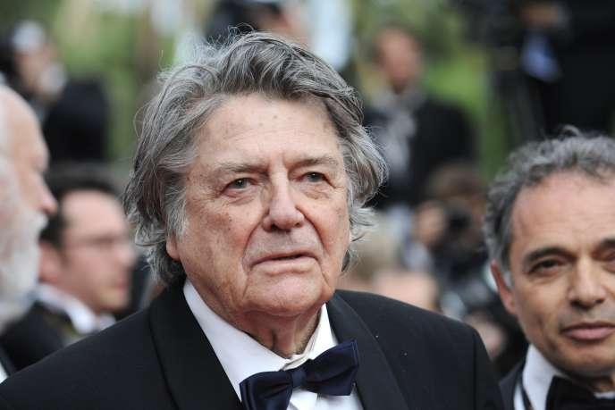 Jean-Pierre Mocky, le 12 mai 2010 à Cannes.