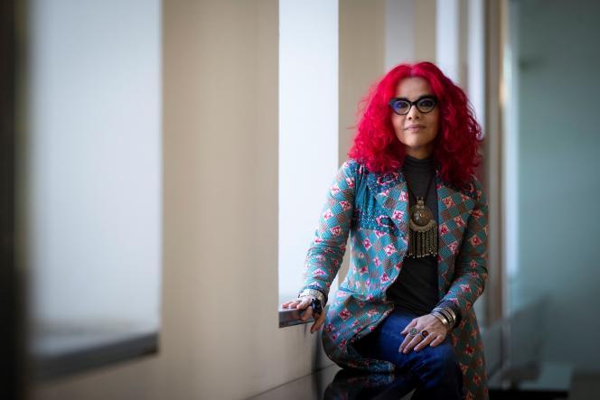 Mona Eltahawy, à Barcelone, en mars.