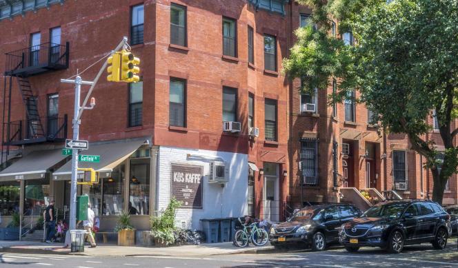 Le restaurant Kos Kaffe, sur la 5e Avenue, à Brooklyn (New York).
