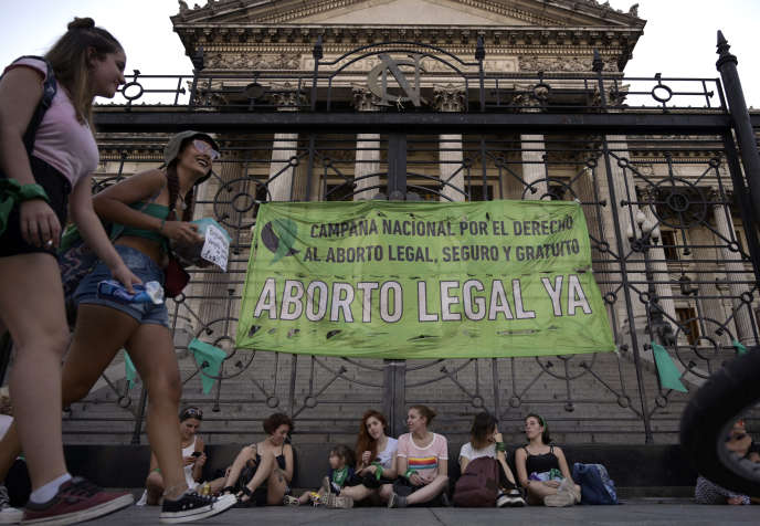 "In Argentina, exponential rise in ""legal termination of pregnancy"""