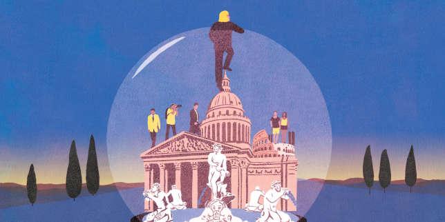 A Rome, «je suis un Martien»