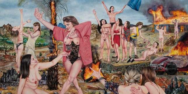 Exposition : les danses macabres de Nazanin Pouyandeh