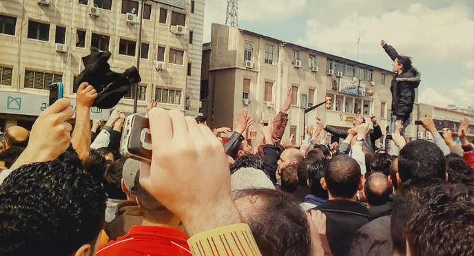 Une image extraite du documentaire deMaya Khoury, «Fi al-thawra».