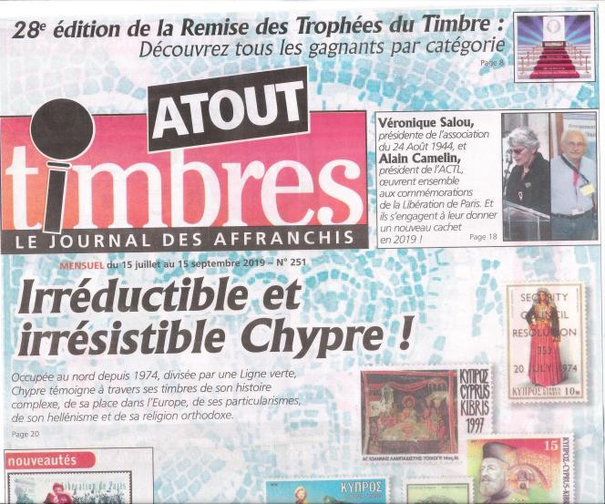 « Atout timbres» (Yvert et Tellier), en vente en kiosques.