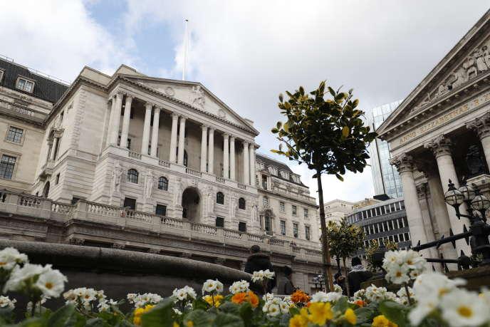 La Banque d'Angleterre, dans le centre de Londres, le 7 février.