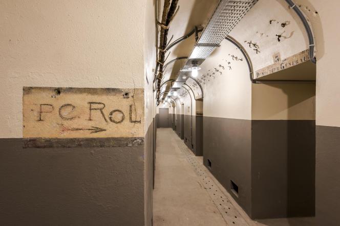 Le poste de commandement du colonel Rol-Tanguy que l'on pourra visiter, sur réservation, par groupes de 18 personnes au maximum.