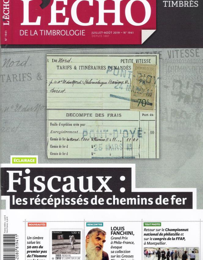 « L'Echo de la timbrologie» (Yvert et Tellier), en vente par abonnement.