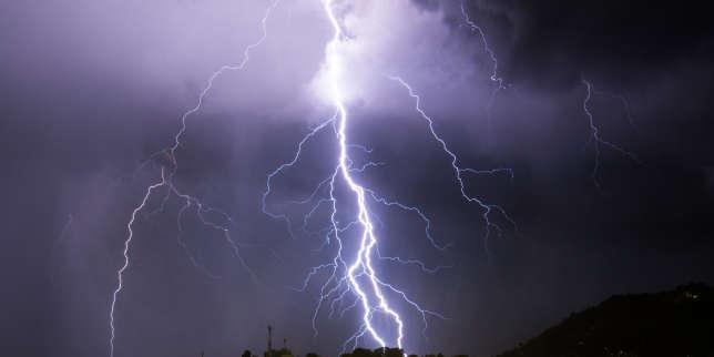 Méteo :26 départements en vigilance orange pour risque d'orages «violents»