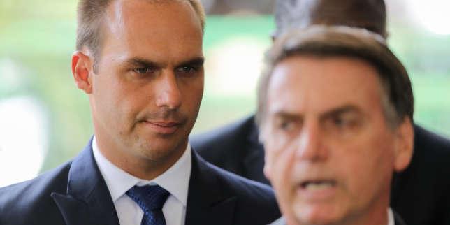 Le fils de Jair Bolsonaro bien parti pour devenir l'ambassadeur du Brésil aux Etats-Unis