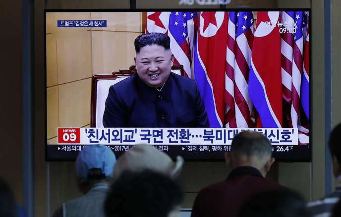 """Trump posts deal with Kim, who shoots two new """"shots"""""""