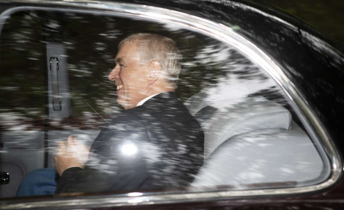 Le prince Andrew, le 11 août à Crathie, enEcosse.