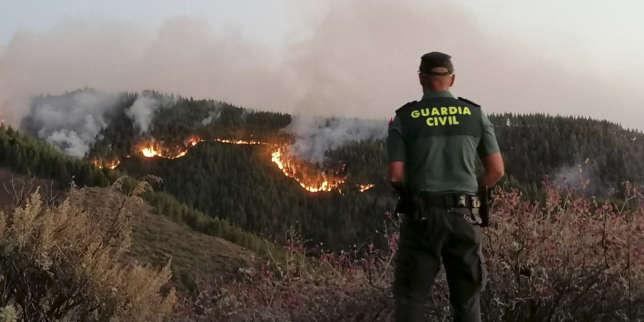 Une partie de l'Europe touchée par des incendies de forêts