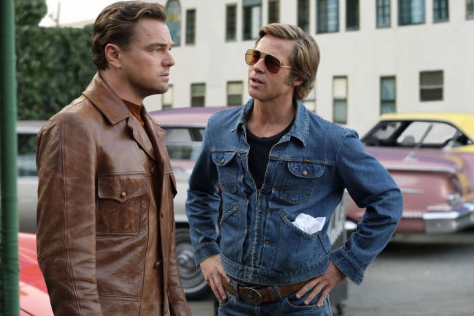Leonardo DiCaprio et Brad Pitt dans«Once Upon a Time… in Hollywood».