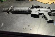 L'arme à feu utilisée par Connor Betts lors de la fusillade du 4 août à Dayton, dans l'Ohio.