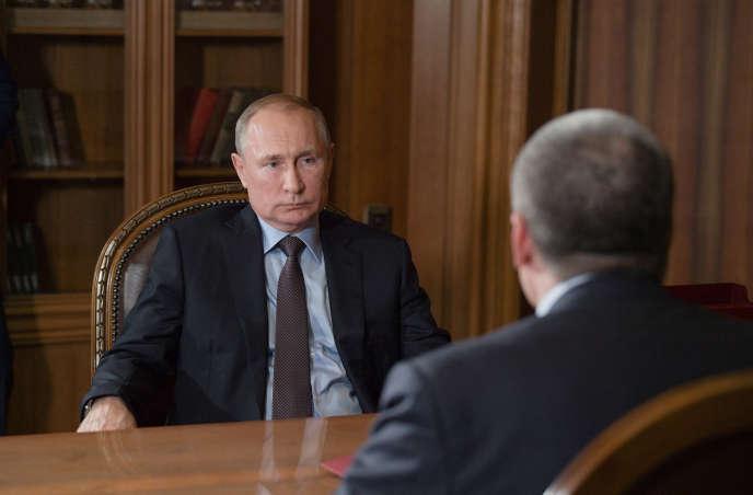 Le président russe, Vladimir Poutine, le 12 août.
