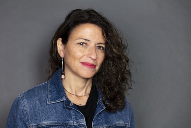 L'écrivaine Karine Tuil,en mai 2019.