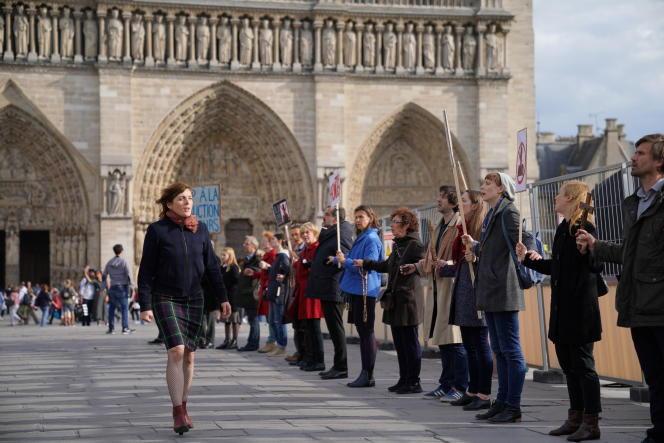 Valérie Donzelli, réalisatrice et actrice du film «Notre Dame», présenté au Festival de Locarno.
