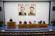 Image extraite du documentaire deTommy Gulliksen,« La Corée du Nord et l'art».
