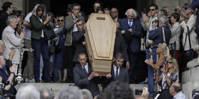 Des centaines de proches et de fidèles aux obsèques de Jean-Pierre Mocky