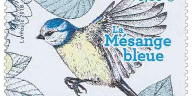 La mésange bleue et le centenaire de l'armistice parmi les plus beaux timbres de l'année