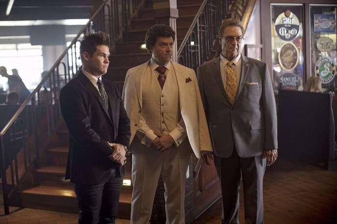 Adam DeVine, Danny McBride, et John Goodman, dans«The Righteous Gemstones».