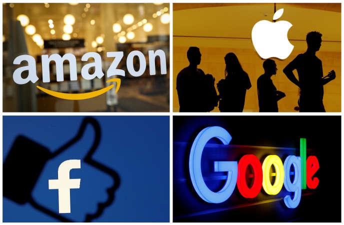 Les grands groupes américains dits «GAFA» ont dénoncé la taxe numérique française, lors d'auditions menées à Washington, le 19 août.