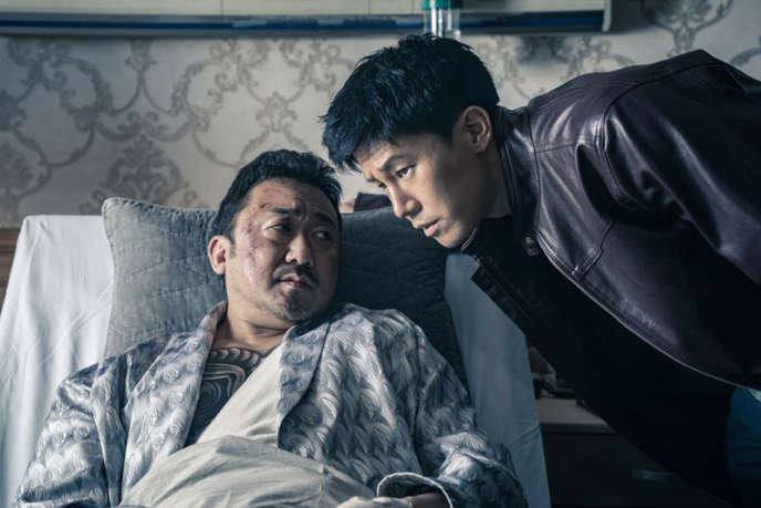 Ma Dong-seok etKim Moo-yul dans«Le Gangster, le Flic & l'Assassin», de Lee Won-tae.