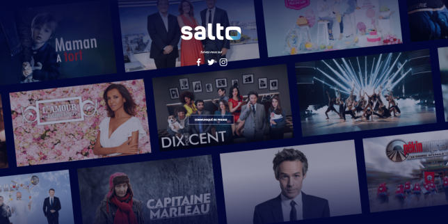 Salto, l'anti-Netflix de France TV, TF1 et M6, est annoncé pour 2020