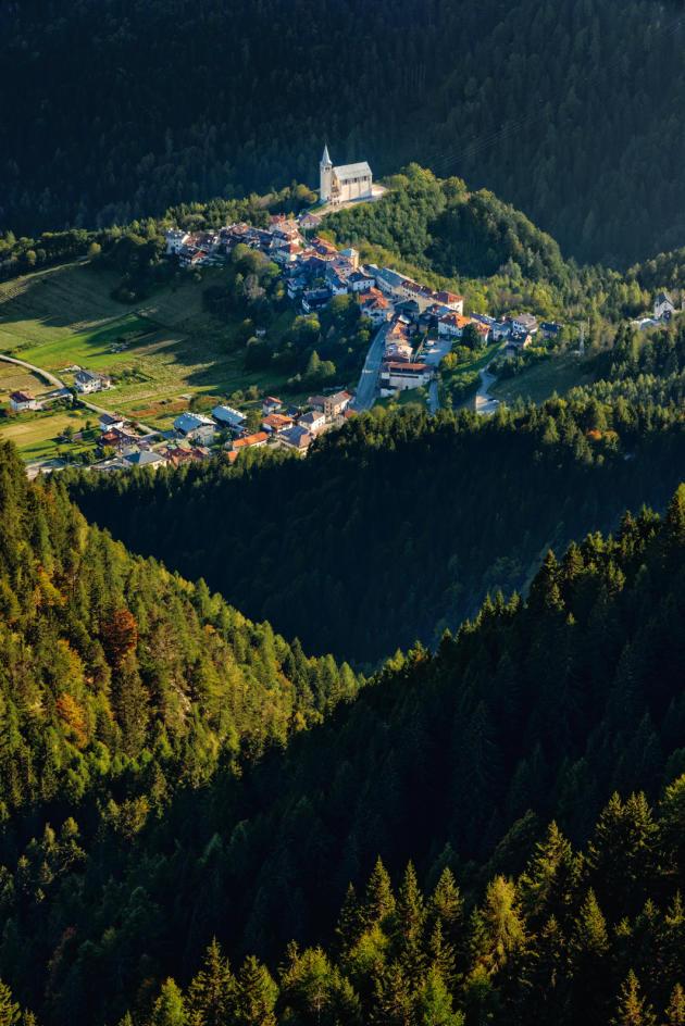 Le massif préalpin des Dolomites, en Italie.
