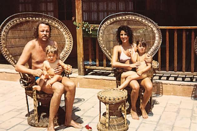 A partir de 1970, Wolfgang et Shahla Mauch (ici avec leurs enfants) dirigent le lieu.