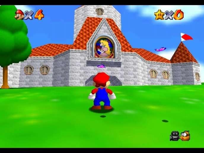 Des documents relatifs au jeu «Super Mario 64», sorti sur Nintendo 64, ont notamment été découverts.