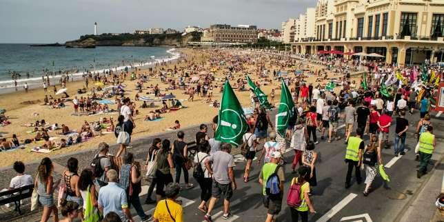Avant le G7 de Biarritz, officiels et contre-manifestants sont dans les starting-blocks