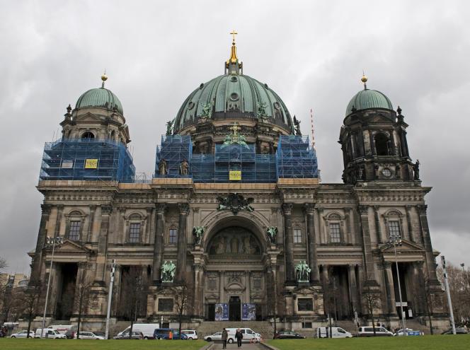 La cathédrale de Berlin, le 25 mars 2019.
