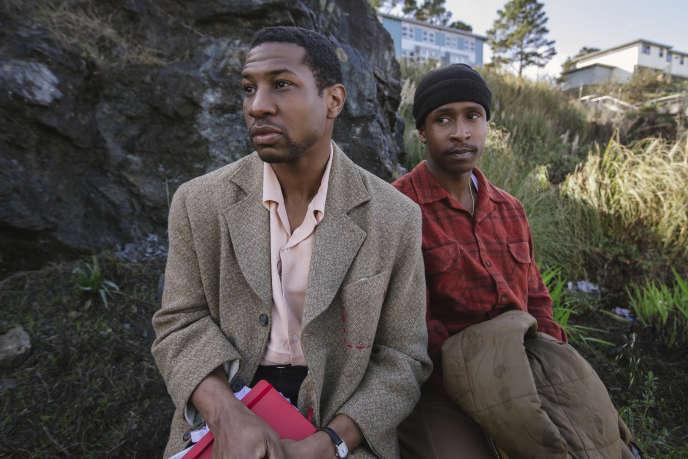 Jonathan Majors dans le rôle de Montgomery Allen et Jimmie Fails dans celui de Jimmie Fails dans«The Last Black Man in San Francisco» (2019), de Joe Talbot.