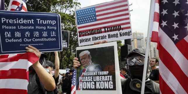 Donald Trump embarrassé par la question de Hongkong