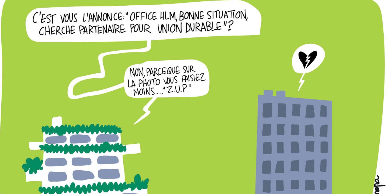 Le laborieux regroupement des offices HLM - Le Monde