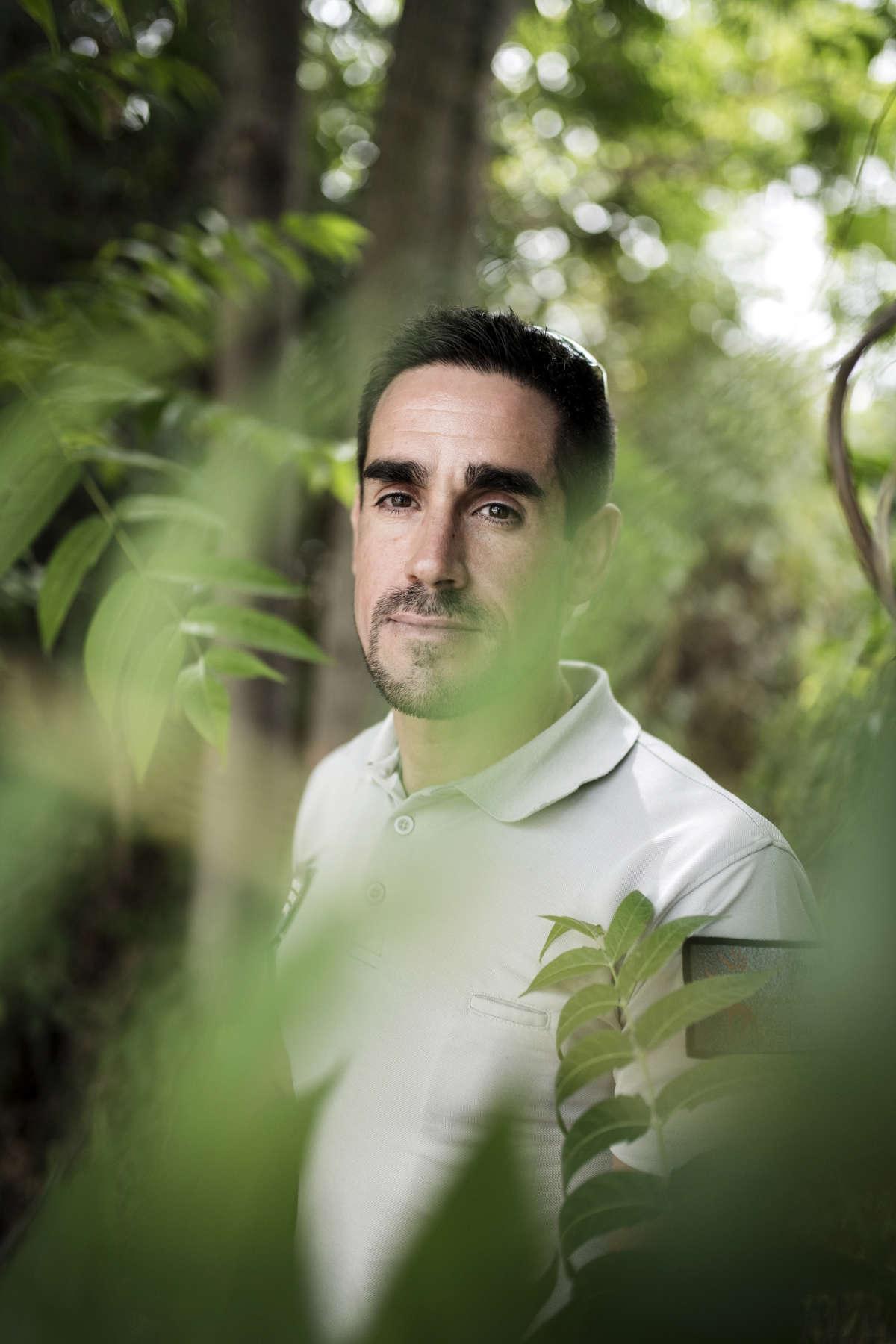 Nicolas Jean, membre de l'équipe de l'ONCFS, le 13 août.