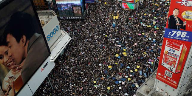 Crise à Hongkong: Pékin a utilisé Twitter et Facebook contre les manifestants