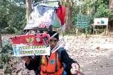 En Indonésie, 700km à pied en marche arrière pour dénoncer la déforestation