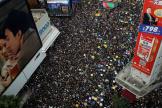 Manifestation dans les rues de Hongkong, le 21 juillet.
