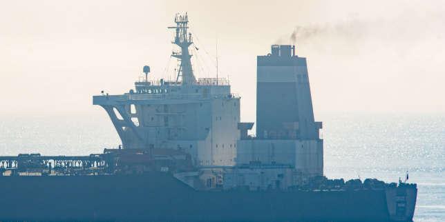 Washington émet un mandat pour saisir le pétrolier iranien «Grace 1» relâché par Gibraltar