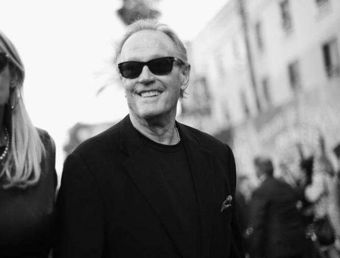 Peter Fonda lors de l'avant-première du film « Alice de l'autre côté du mirroir», en2016, àHollywood, Californie.